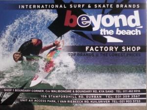 Beyond the Beach Factory Shop ( Johannesburg )